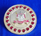 16th / 5th QUEEN'S ROYAL LANCERS BROOCH / BROACH (GRS)